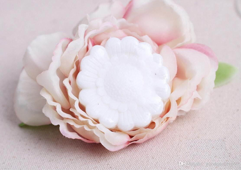 20pcs savon de fleur de tournesol à la main pour fête de mariage anniversaire bébé douche souvenirs souvenir faveur