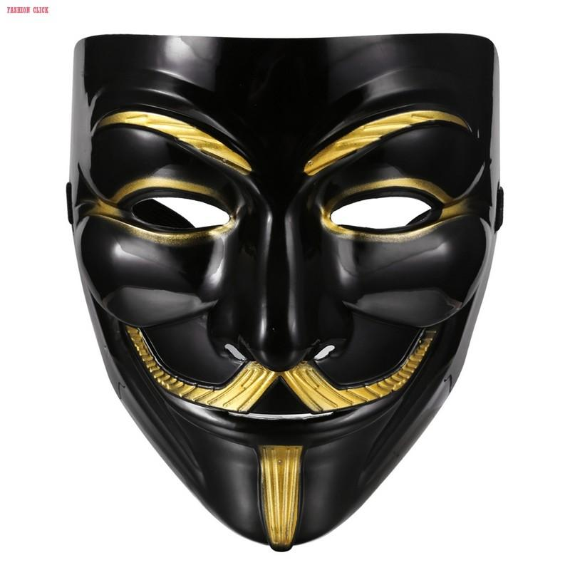 Wholesale- New halloween mask Masquerade Costume Cosplay V for Vendetta Anonymous Mask 7S