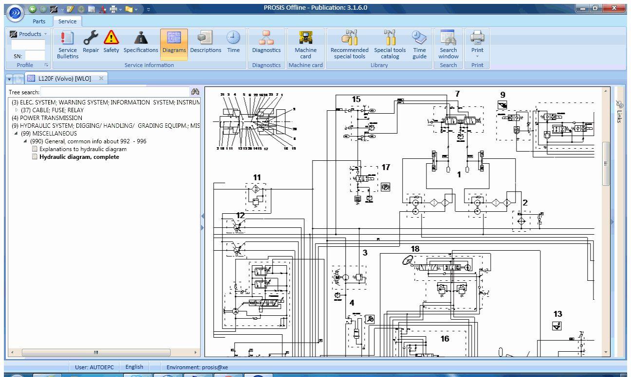 for volvo construction equipment prosis 2017 parts repair auto rh m dhgate com Volvo L70C Manual FS17 Volvo L70C