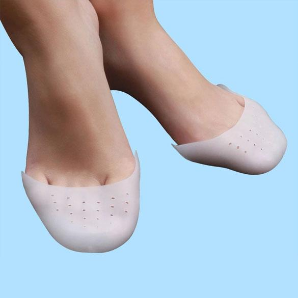 1 Pair Silicone Foot Care Protector Gel Toe Soft Ballet Pointe Dance Shoes Pads