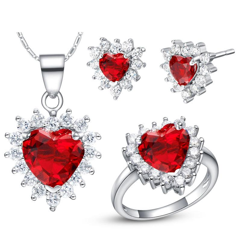 NUOVO set di 925 set di set personalizzati in argento sterling di accessori per la moda oceano e americana di alta gamma
