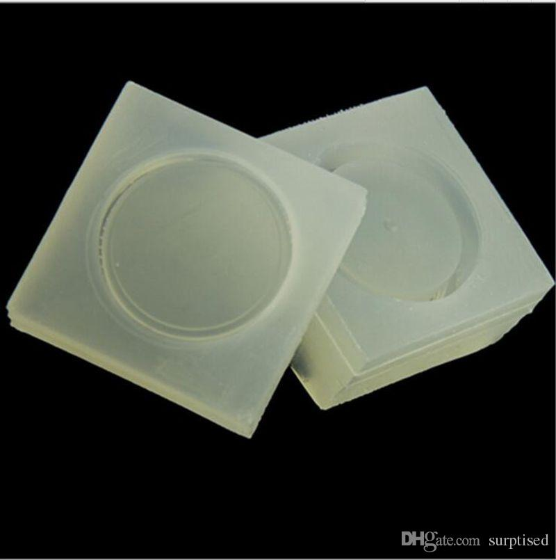 Small Round Box Silicone Mold Resin Molds Diy Storage Jewelry Manufacturing Process For