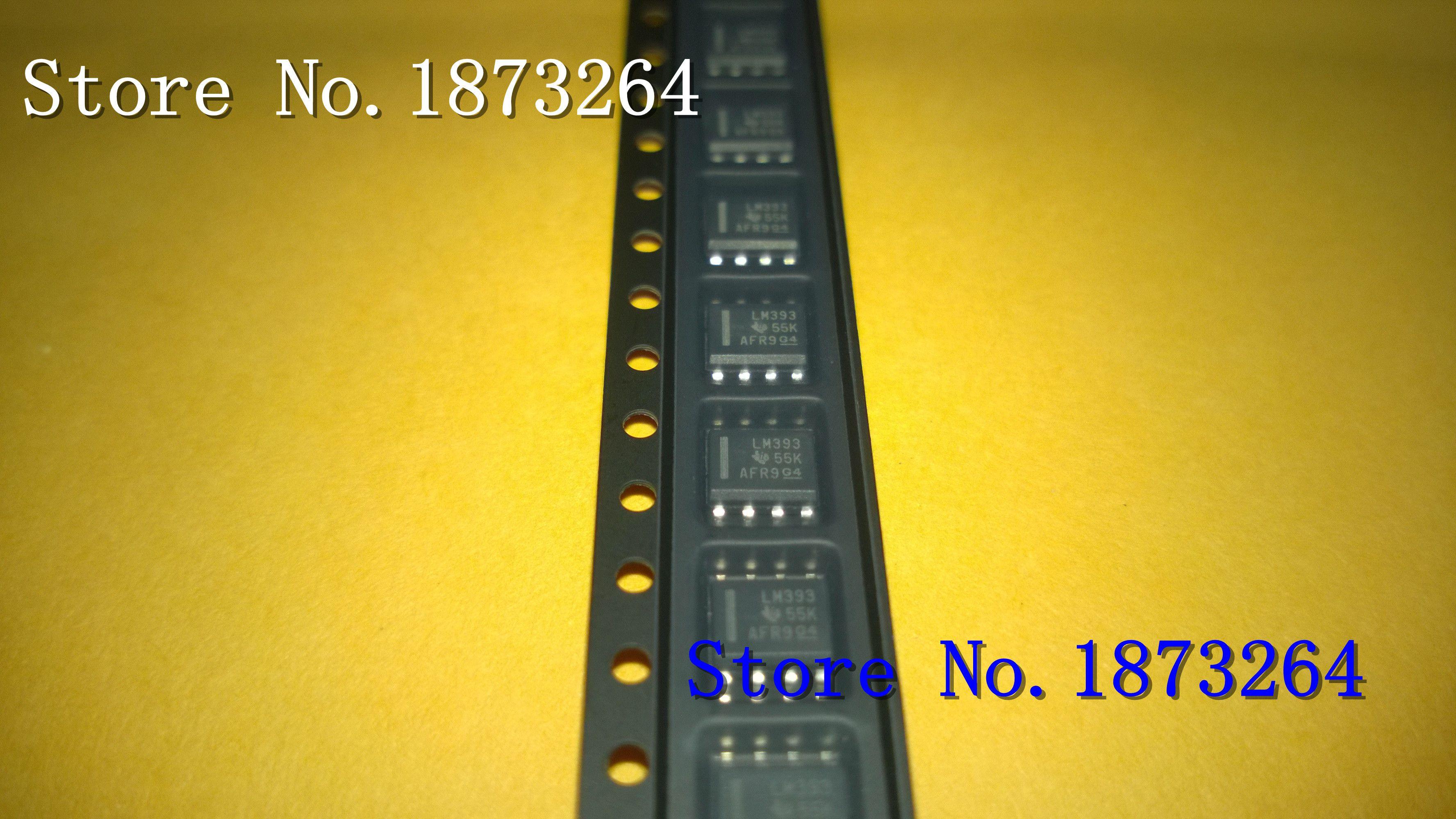 Freeshipping LM393DR LM393 SOIC8 original und neue 100 TEILE / LOS