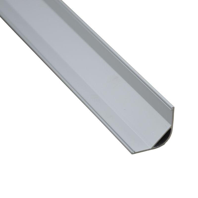 10 X 1M sets/lot Al6063 T6 Right angle aluminum channel light and aluminium corner profile for kitchen or wardrobe lamps