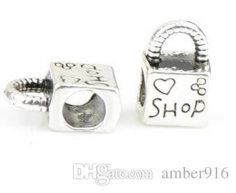 Diy acessórios big hole solta pérolas charme para pandora diy pulseira de jóias para pulseiras europeias mulheres jóias