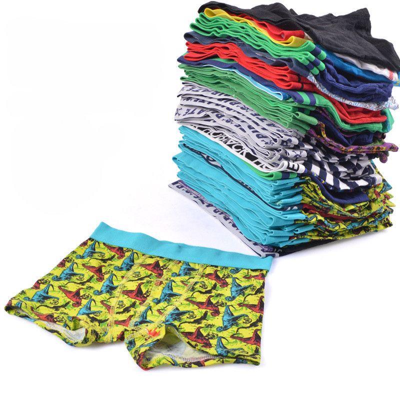 Culottes garçons boxers Bébés Enfants Vêtements garçons Sous-vêtements vêtements enfants Sous-vêtements Une variété de styles expédiés au hasard