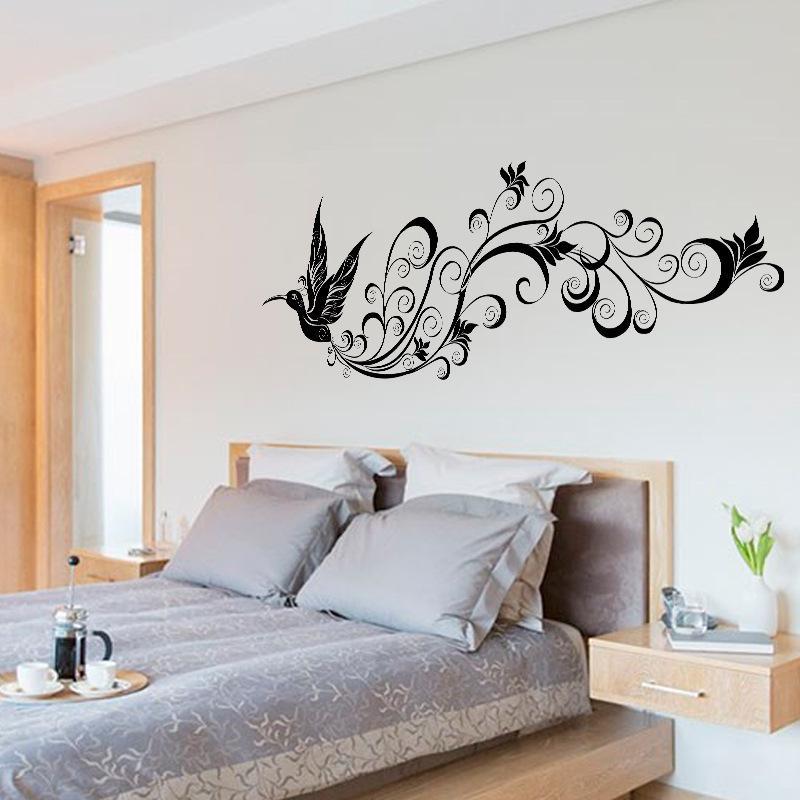 Acquista Flying Bird Silhouette Wall Sticker Camera Da Letto Moderna Tv  Sfondo Soggiorno Impermeabile Decorativo Decalcomanie Di Arte Murale A  $17.27 ...