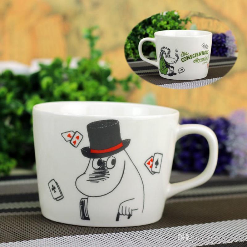 Acquista tazza di ceramica di moomin caffè caffè wate juice