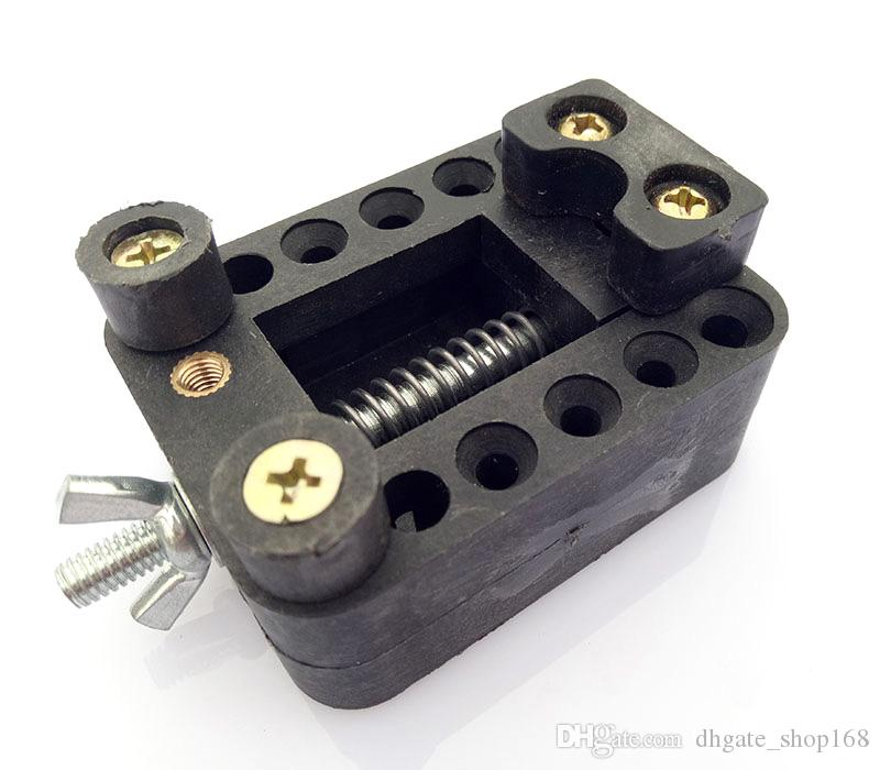1 pezzo di colore nero regolabile posizione guarda indietro caso copertura apri dispositivo di riparazione supporto orologiaio