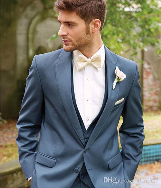 Custom Made Men Slim Fits suits handsome Tuxedo Wedding Suits new ...