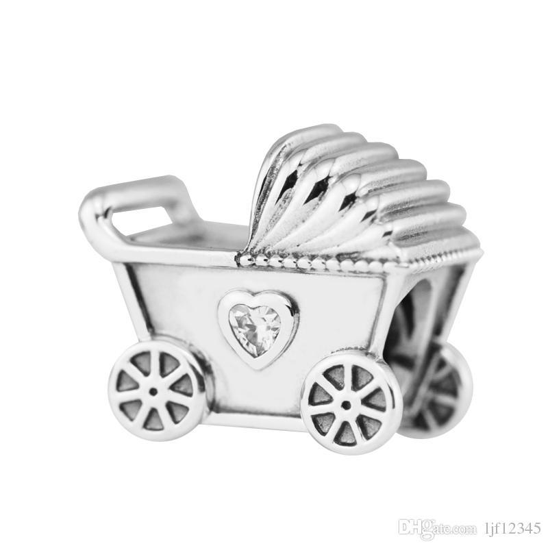 charm pandora carrozzina