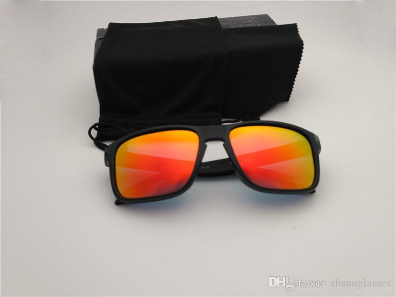 В наличии Мужские солнцезащитные очки мода открытый SPORT солнцезащитные очки Clying поляризованные с коробкой бесплатная доставка