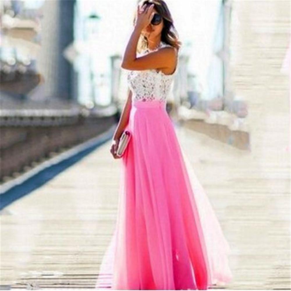 Compre Vestido Largo De Noche De Nueva Señora Vestido Largo De ...