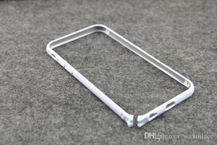 Luxury Aluminum Metal Bumper Rapier Serie Case For iphone 5 5S 5G 6G 4 inch Round Edge Shape Frame Phone Cover