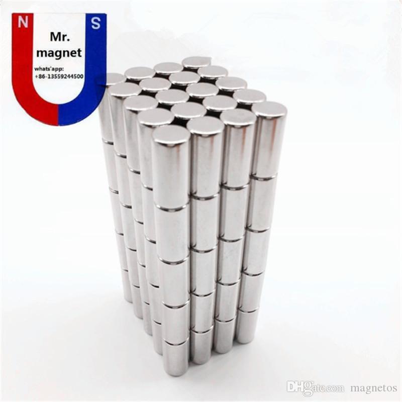 Sıcak satış-50 adet 8x20 mıknatıs 8 * 20mm NdFeB mıknatıs D8x20mm nadir toprak mıknatıs 8mm x 20mm 8x20mm neodimyum mıknatıslar 8 * 20 ücretsiz kargo