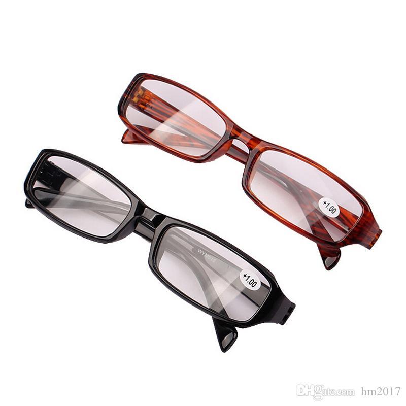 갈색 노안경 안경 Occhiali Da Lettura +1.00 +1.50 +2.00 +2.50 +3.00 +3.50 +4.00 디옵터 포인트 읽기 명확한 앞 유리