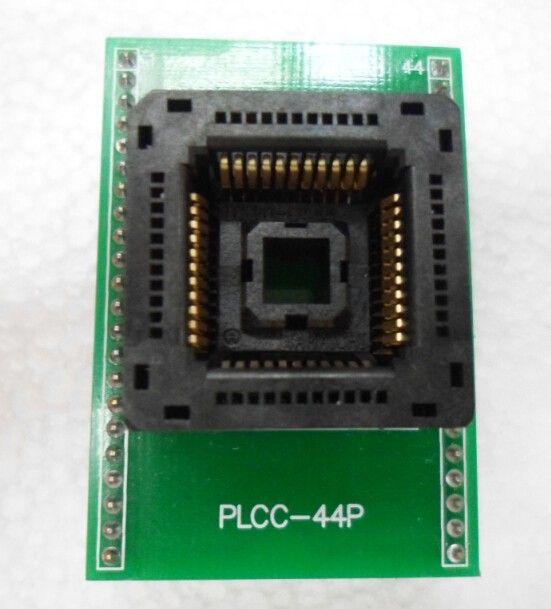 pcb kurulu ile PLCC44pin ti DIP44 Adaptörü Yamaichi IC120-0444-306 ic testi soket soket yanarsın