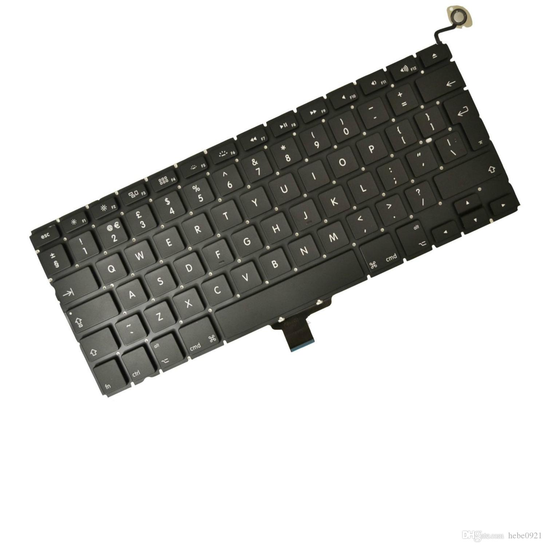 Nuevo teclado británico para MacBook Pro A1278 13 '' Teclado Unibody EE. UU. Diseño 2009-2012