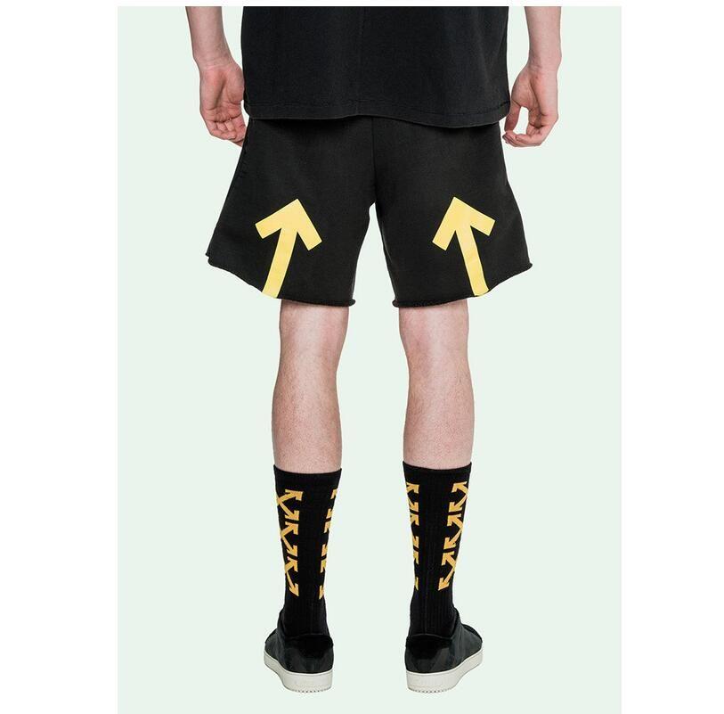 2017 Off White Men Short Pants Brand Clothing Off White Shorts ...
