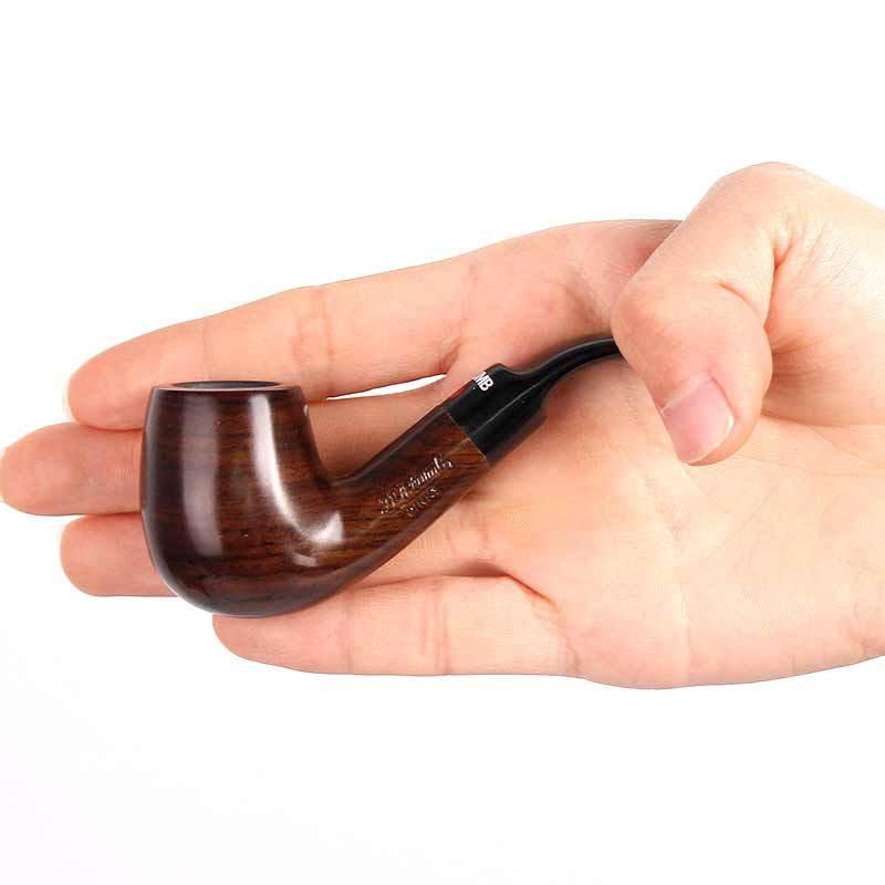 O novo tipo de ébano dobra mini filtro de tubulação Ebony martelo palma dou homens portátil de venda direta