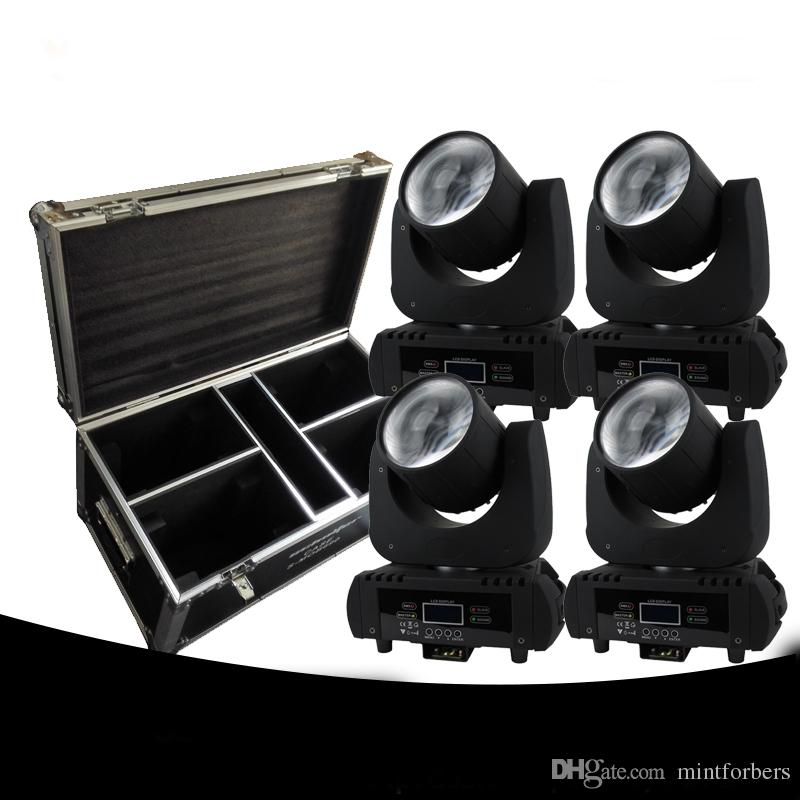 Cabezal móvil de 4 paquetes con haz Led 60w blanco DMX 11 Canales 6 colores Iluminación de escenario Iluminación de DJ Iluminación de fiesta