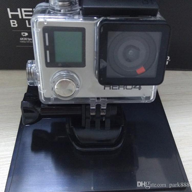 HERO4 черная спортивная камера, которая не оригинальна с 16 ГБ безопасной цифровой картой памяти и аксессуарами, не принимает поддельную жалобу на предмет