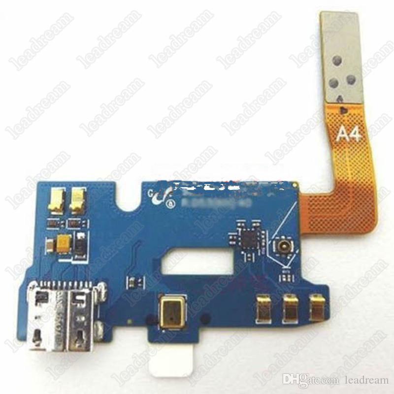50PCS OEM Chargeur Chargeur Dock Port USB Flex Câble Pour Samsung Galaxy Note 2 i317 N7100 T889 livraison DHL
