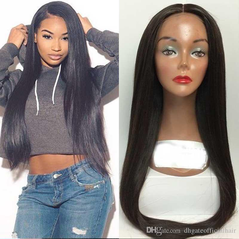 Best Quality Brazilian Malaysian Unprocessed Straight Hair Bundles human Hair extensions Dyeable Hair Weave For Sale