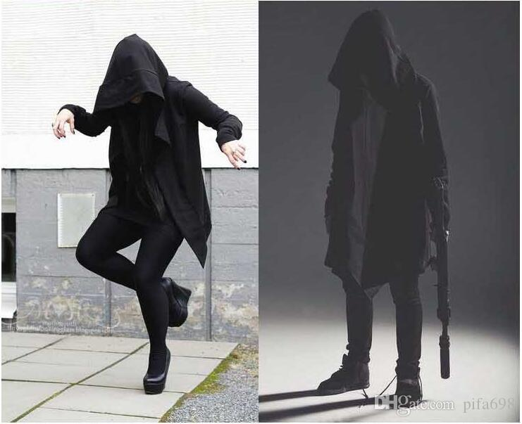 Free shipping - the new assassins creed in fleece hoodie high street teamed with male and female assassins creed coat