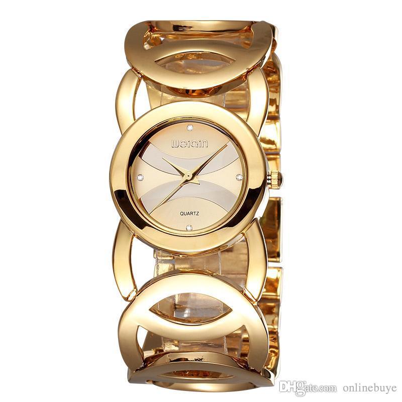 Reloj Mujer de Lujo Impermeable Cristal Pulsera de Las Mujeres Relojes de Señora Vestido de Niña de Moda Reloj de Cuarzo Reloj de Mujer Relogio Feminino Envío de La Gota