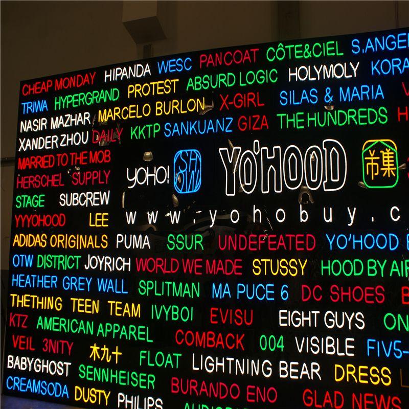 Outdoor-High-Helligkeit Neon-LED-Geschäfts-Shop-Zeichen, maßgeschneiderte offene Neonschilder, leuchtender Kaffee-Store-Barname Zeichenbuchstaben