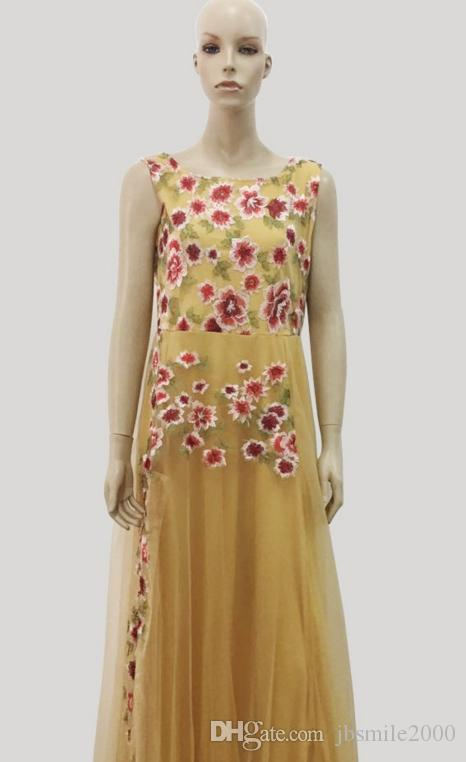 Новое горячее, популярное вечернее платье без рукавов, НВ, вышивка, роскошь, grntelwomanly, сексуально, весной, платье девушки, красивое и молодое162635314