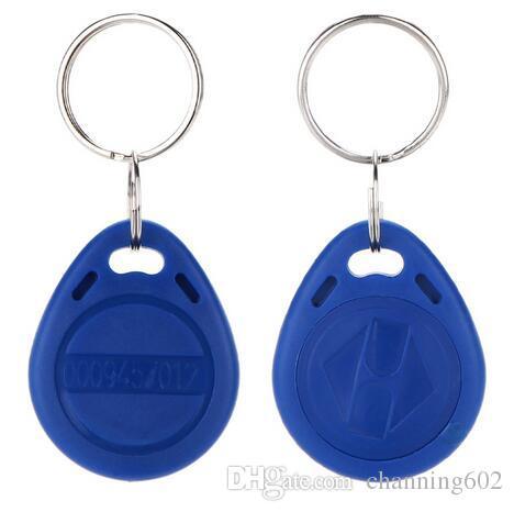 100 pcs ISO11785 Tk4100 / EM4100 125kHz personnalisé porte-clés Fob ABS Tag RFID contrôle d'accès en plastique porte-clés en plastique