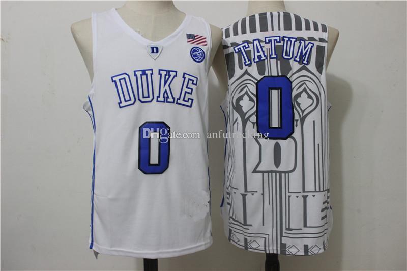 2e0aaddd1a3 2017 duke blue devils jersey 0 jayson tatum 1 kyrie irving 3 garyson ...  cheap basketball jersey mens 14 brandon ingram ...