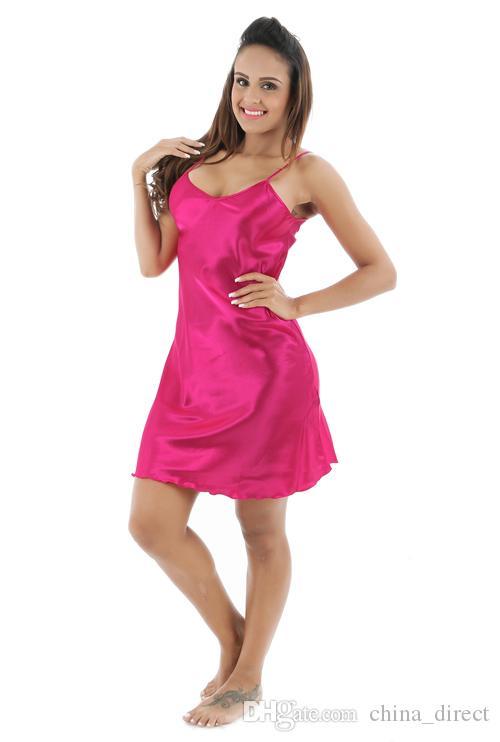 2017 숙녀 잠옷의 의상 드레스 Sleepshirts PJS의 드레스 짧은 섹시한 럭셔리 솔리드 신부 2 PC를 / 많은 # 4031