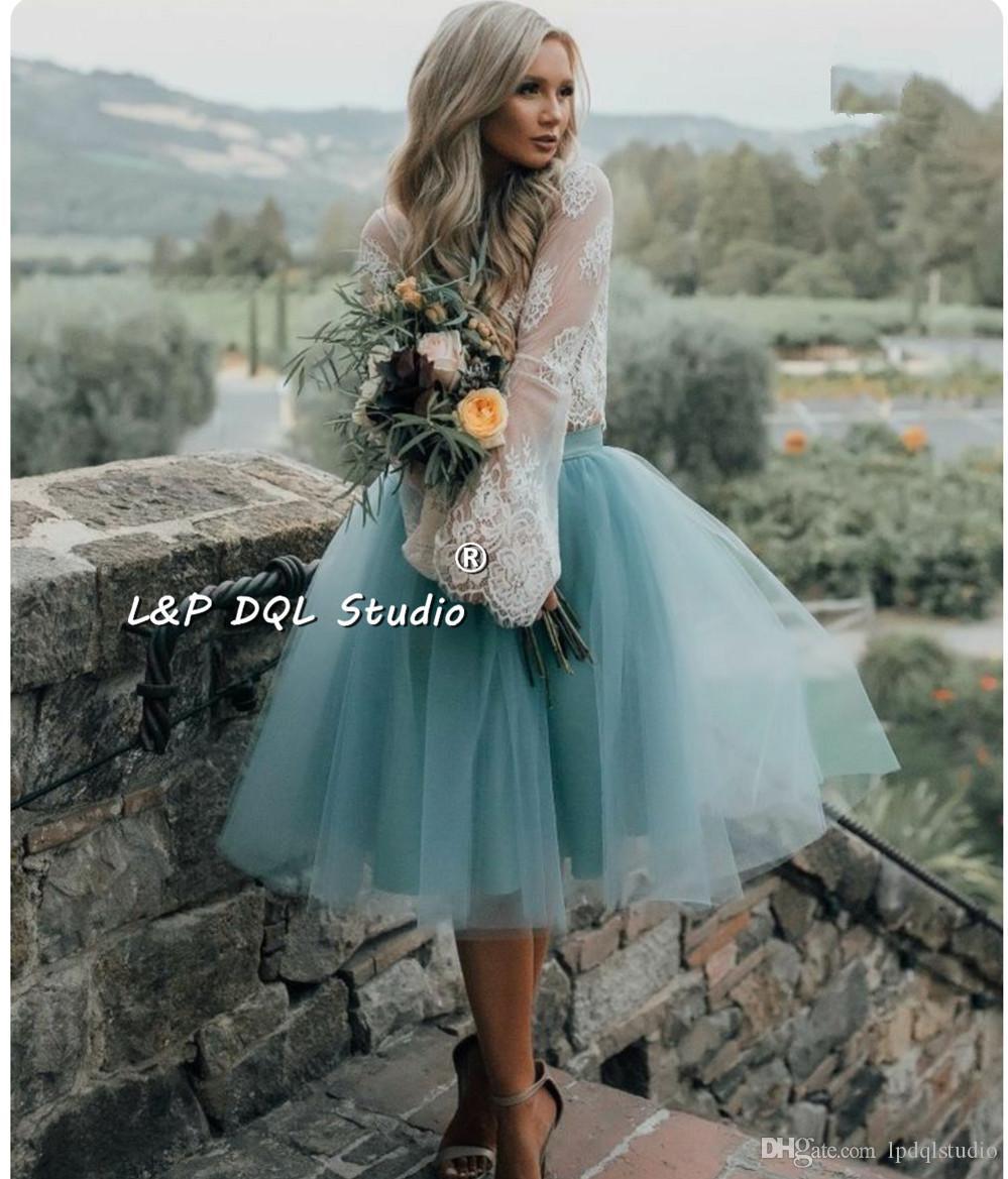 تنورات رومانسية النساء التنانير عالية الجودة 3 طبقات تول 1 بطانة موضة التنانير القصيرة اكسسوارات الزفاف الأرجواني ، الأبيض زائد الحجم