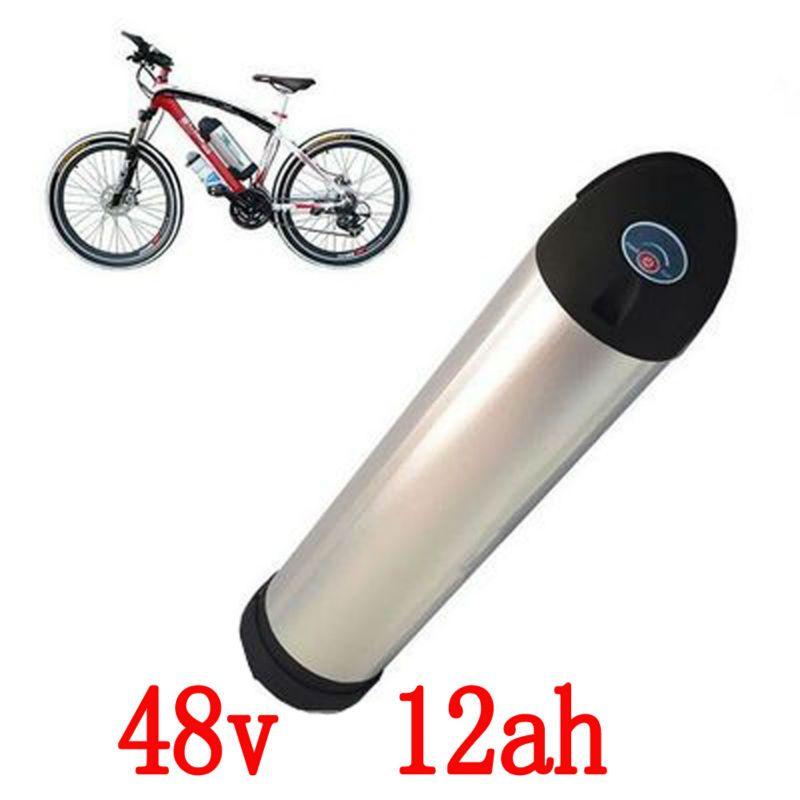 Бесплатные таможенные налоги аккумуляторная литиевая батарея 48 В 12ah 750 Вт литий-ионная батарея литий-ионная аккумуляторная батарея + 2A зарядное устройство + 20A BMS