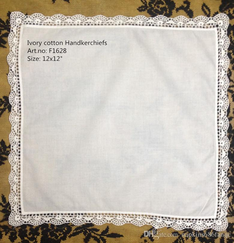 100/% Cotton Womens Handkerchiefs Embroidery Ladies Vintage Floral Lace Handkerchiefs for Wedding Party