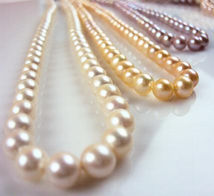 6-7mm Natürliche Tahiti Perlenkette 17 Zoll 925 Silber Verschluss