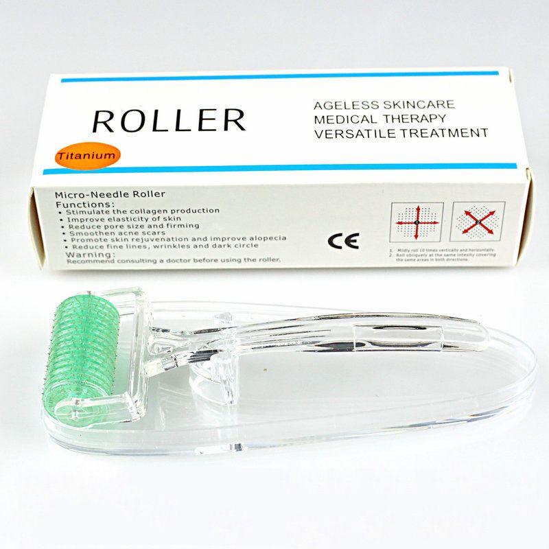 МТ дермы ролик 360 игл dermaroller медицинский микро иглы дермы ролик кожи для акне морщины растяжки омоложение 0.2 мм-3.0 мм