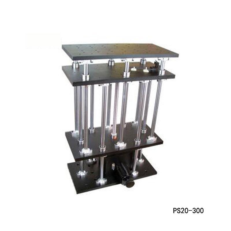 전기 리프팅 플랫폼 모터 드 랩 잭 승강기 광학 슬라이딩 리프트 300mm 여행 PS20-300