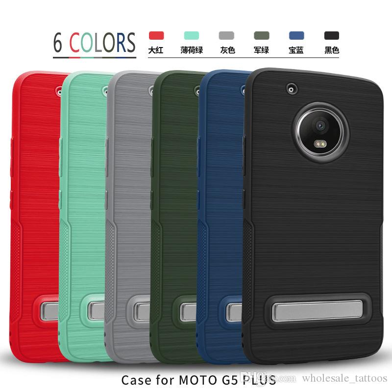 Per Motorola Moto G5 G5 Inoltre Samsung Galaxy J3 primo metropolitana S8 PLUS J3 Emerge J327P J5 J7 2017 2017 TPU caso LG V20 armatura con supporto