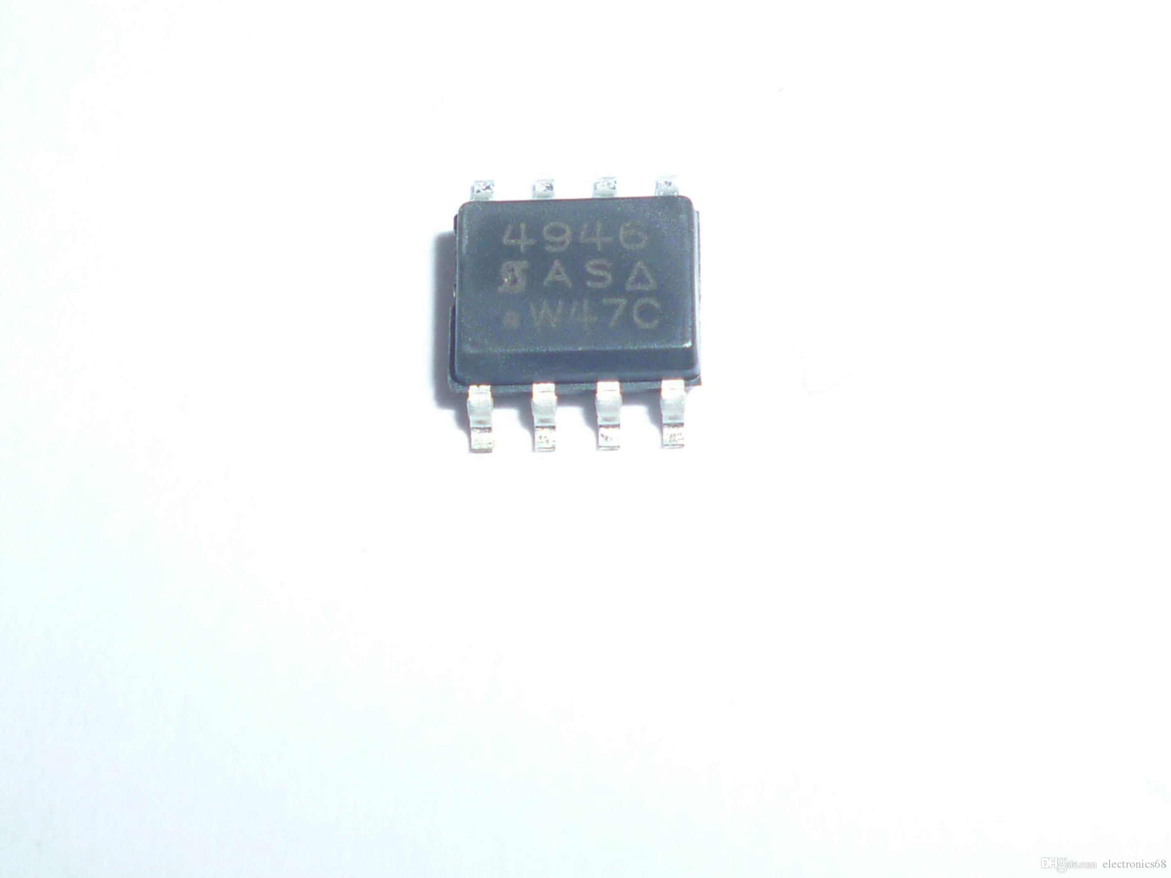 SI4946EY 4946 SOP8 Dual N-Channel 60-V (D-S)، 175C MOSFET