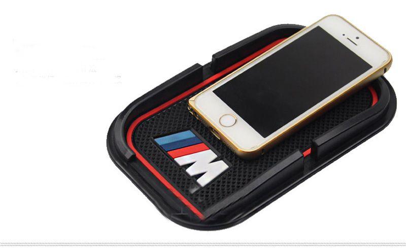 Glue M Power M performance car phone no slip pad ring sticker for BMW M3 M4 M6 E40 E46 E36 E39 E70 E60 E90 F30 F18 F10
