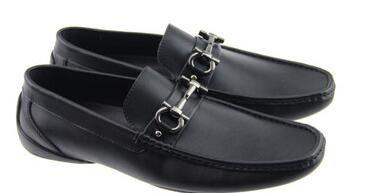 2017 En Kaliteli Rea l Deri Inek Derisi Erkekler Casua l Ayakkabı Lüks Tasarımcı Oxford Mocassin Elbise Ayakkabı Zapatos Hombre 40-46
