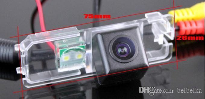 Car Parking Camera / Reverse Camera For Volkswagen VW Scirocco Rear View Camera / License Plate Light OEM