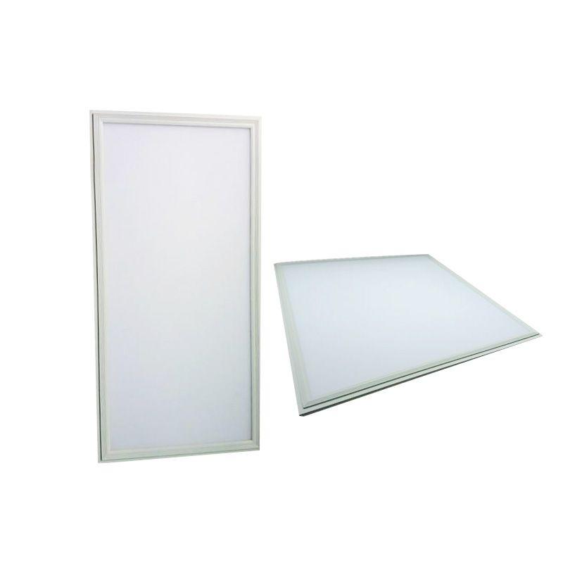 CE UL White frame 2x2 2x4 LED panel lights 600x600mm 36w 48 54w 72w flat Led Ceiling panel Light warm nature white AC85-265V