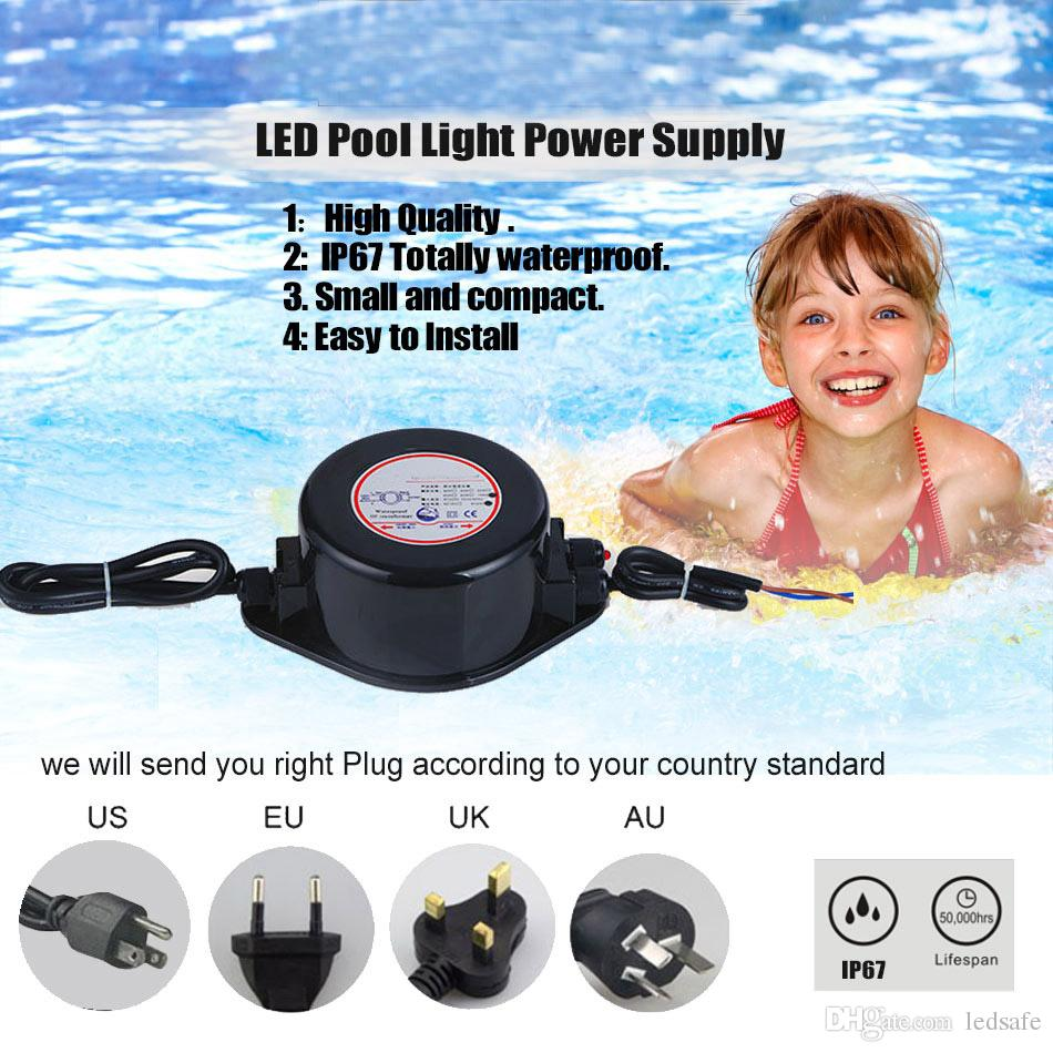 2020 12v Led Power Supply Converter Waterproof Ip67 Driver For Swimming Pool Light Pond Lamp Fountain Lights Lighting 120v 220v To Ac 12 Volt 60w From Ledsafe 105 Dhgate Com