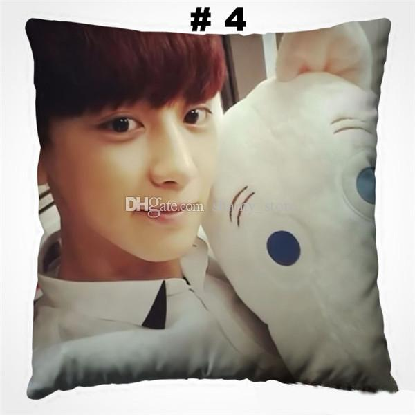 Park Chanyeol boyfriend pillow home Gift kpop customized new Square Pillows size
