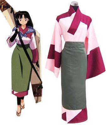 Inuyasha Sango Kimono Cosplay Costume Resident Evil Cosplay Costumes For Sale Cosplay Costumes For Halloween From Hosiyoubi 54 83 Dhgate Com